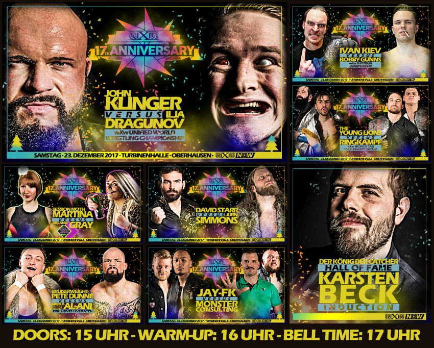 Image result for wxw 17th anniversary